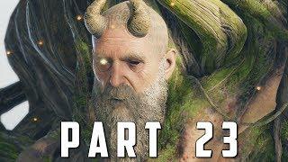 GOD OF WAR Walkthrough Gameplay Part 23 - MIMIR (God of War 4)