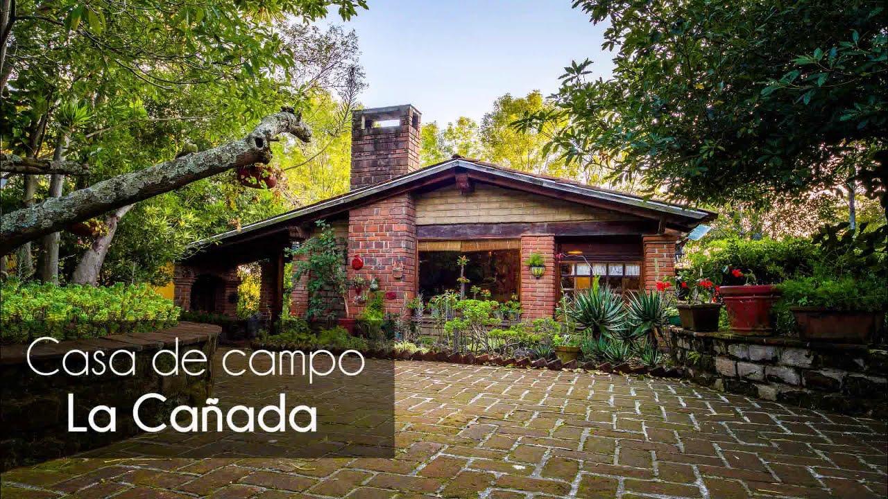 Casa de campo la ca ada km 48 2 carretera mexico cuautla - Jardines en casas de campo ...