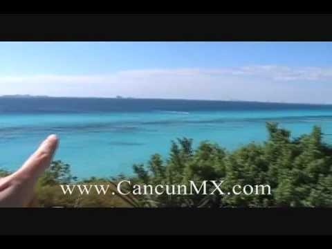 Isla Mujeres - Ferry from Cancun and Golf Cart tour of the island