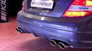 Kicherer Mercedes-Benz C63 White Edition 2011 Videos