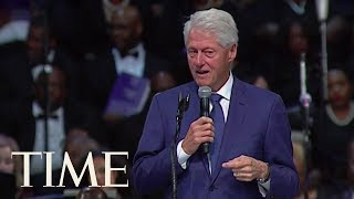 Bill Clinton Plays 'Think' Off His Cell Phone At Aretha Franklin's Funeral   TIME Mp3