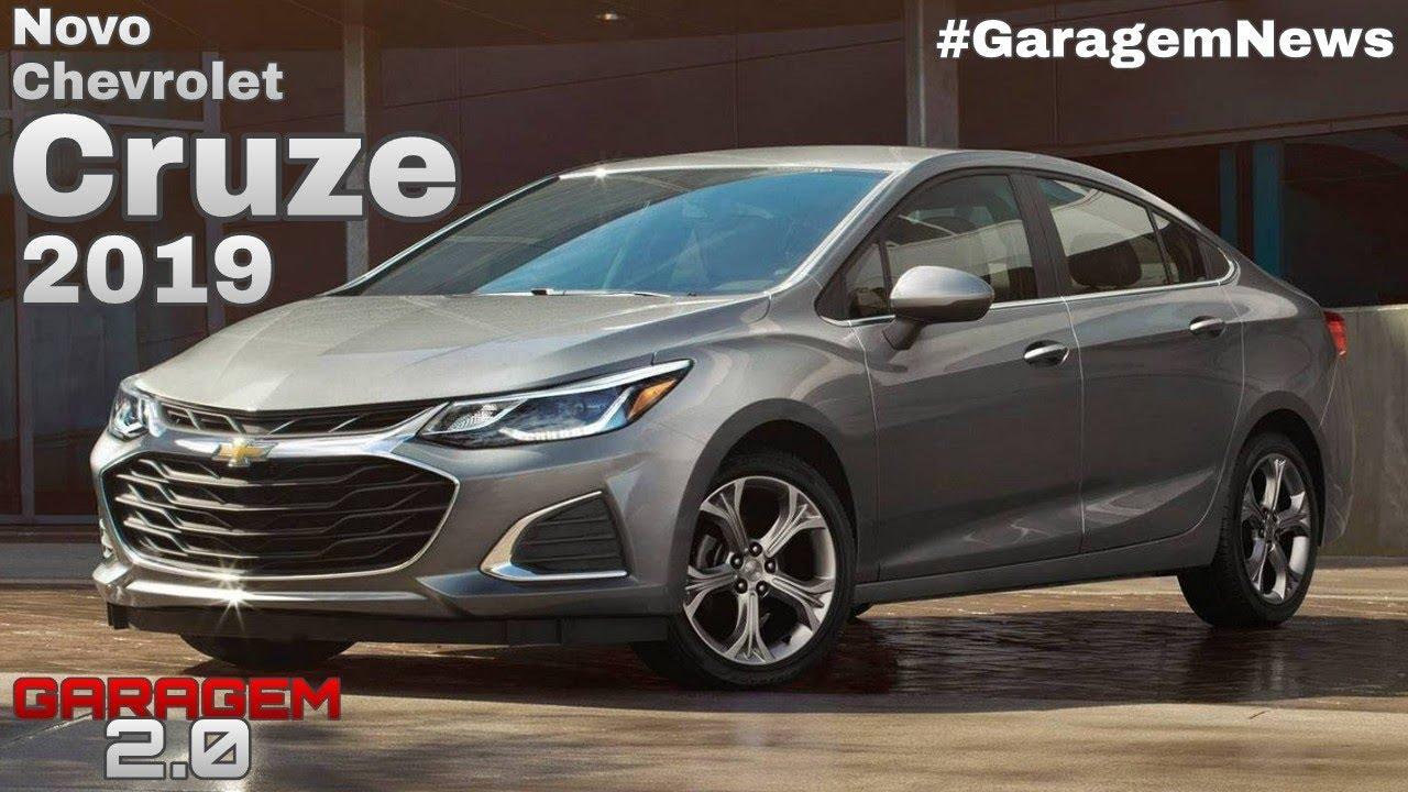 Novo Chevrolet Cruze Sedan 2019 No Brasil - (Garagem 2.0 ...