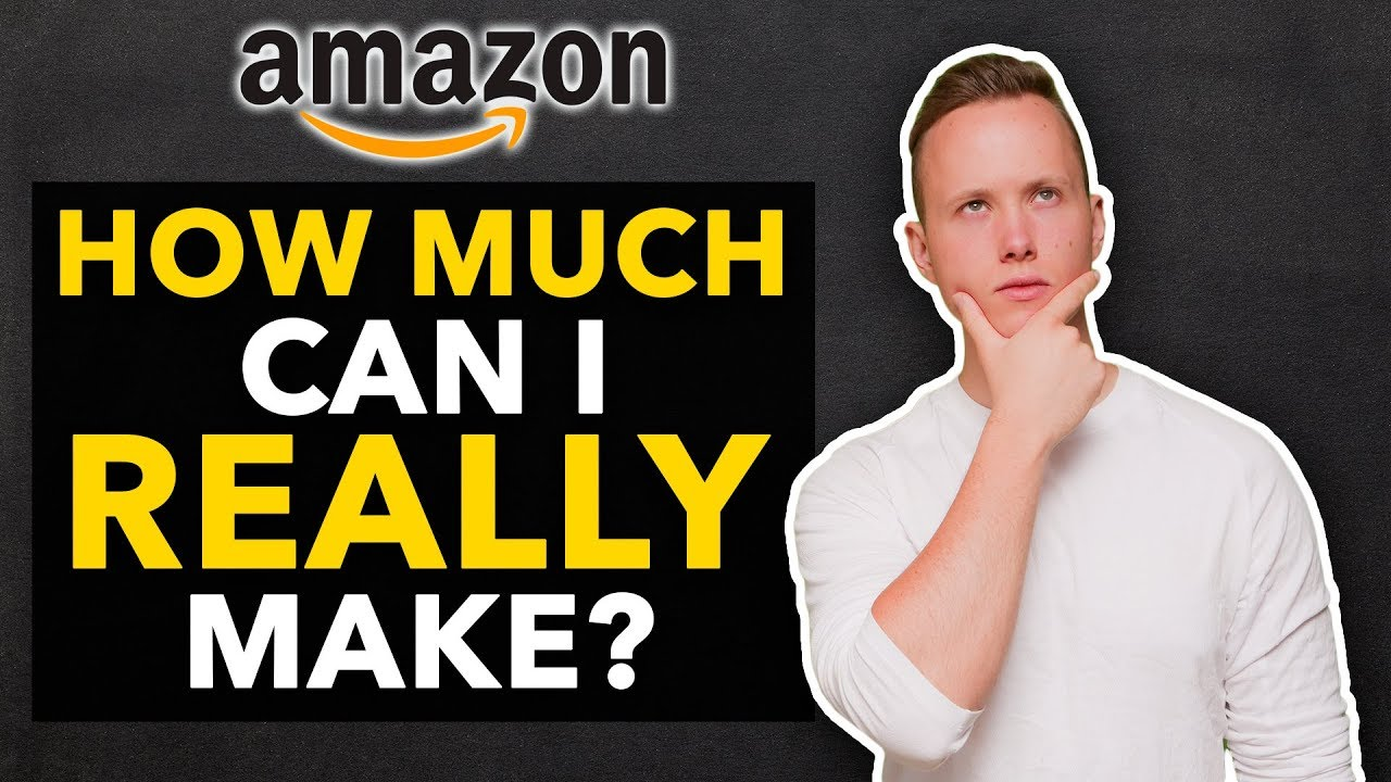 how much money can you make selling on amazon