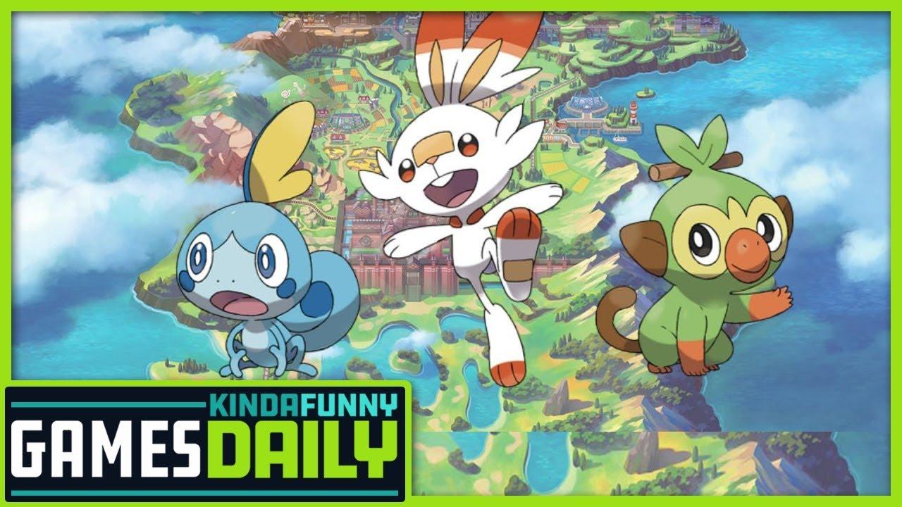 Pokemon Sword And Shield Reactions Kinda Funny Games 02 27 19