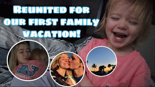 Reunited with my family *ADORABLE TODDLER REACTION* // teen mom vlogs