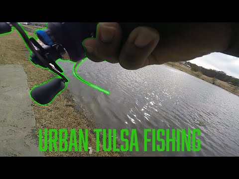 Catching Big Fish In Urban Settings! (Tulsa, Oklahoma)