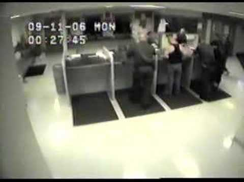 Man Beaten At Justice Center