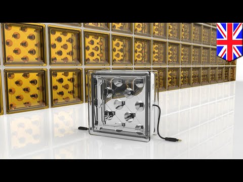 Clean energy: Glass blocks absorb solar energy to power buildings and cars - TomoNews