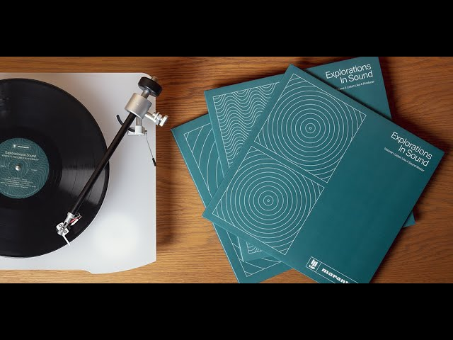 Introducing Explorations In Sound, a Marantz Project in collaboration with Vinyl Me, Please