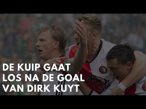 • Amazing crowd reaction after Dirk Kuyt's goal by Feyenoord fans