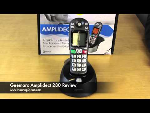 Geemarc Amplidect 280 Cordless Phone Review