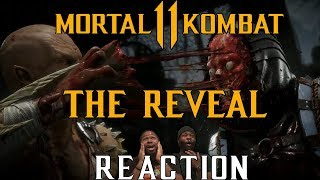 MORTAL KOMBAT 11: THE REVEAL REACTION - Baraka Loves Brains, Evil Raiden, Ronda Rousey & more!