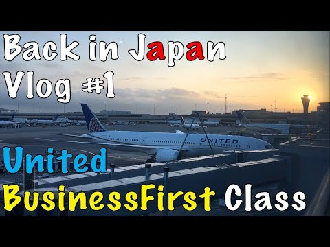 $5,000 UNITED AIRLINES BUSINESSFIRST CLASS, IS IT WORTH IT?!Tokyo Haneda. vlog 1