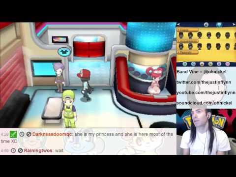 Pokemon XY - How to Check Pokemon IV Tutorial