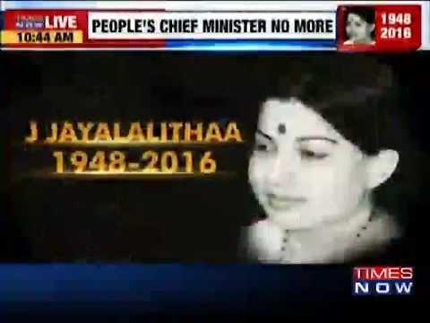 Political Leaders Condole Amma's Death