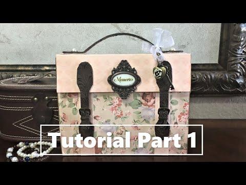 Part 1 - Suitcase Mini Album Tutorial