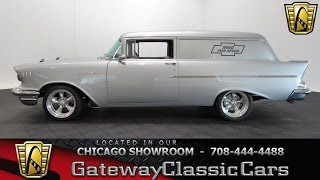 1957 Chevrolet Sedan Delivery Gateway Classic Cars Chicago #1097