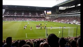 Everton V West Ham BOTH of Baines free kick 21/9/13