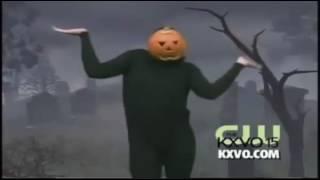 pumpkin man dances to bring me to life by kidz bop