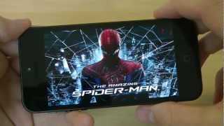 The Amazing Spider-Man For Apple iPhone 5 First Gameplay Hands-On Review