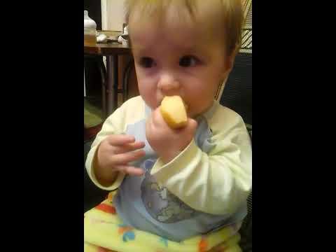 Малыш #Fillman пробует айву
