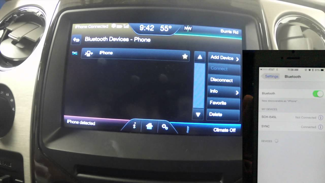 how to use microsoft sync to listen to music from your phone in the car youtube. Black Bedroom Furniture Sets. Home Design Ideas