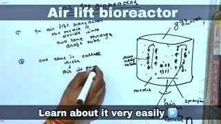 Airlift bioreactor in hindi ll biology ll