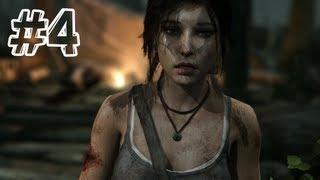 Tomb Raider (2013) - Gameplay Walkthrough Part 4 - Mountain Rendezvous (Hard)