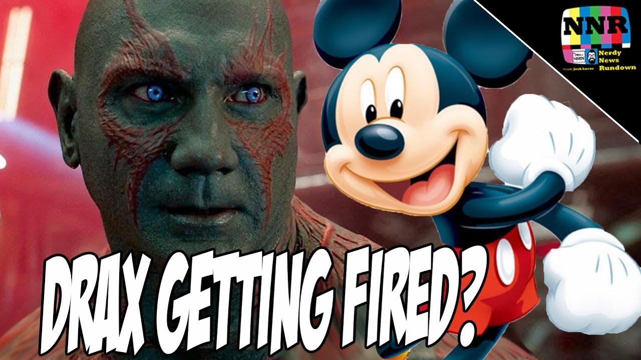 Dave Bautista vs Disney: James Gunn Tweets Story Continues