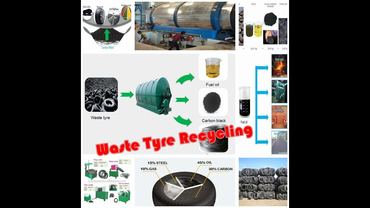 How to Start waste tyre recycling latest