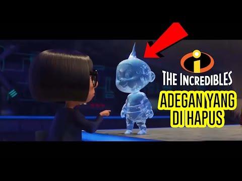 KAMU GAK AKAN MELIHAT SCENE INI DI BIOSKOP! [Incredible 2] Edna & Jack Jack Deleted Scenes