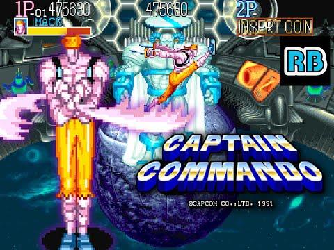 1991 [TAS 60fps] Captain Commando (World) 492520pts Mack Nomiss ALL