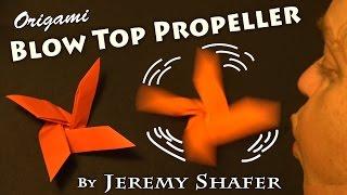 Origami Blow Top Propeller