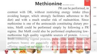 methionine restriction as a life extension strategy