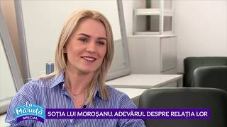 Sotia lui Morosanu, adevarul despre relatia lor