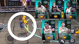 ALL OUT OF POSITION TEAM GAMEPLAY IN NBA LIVE MOBILE 20!!!