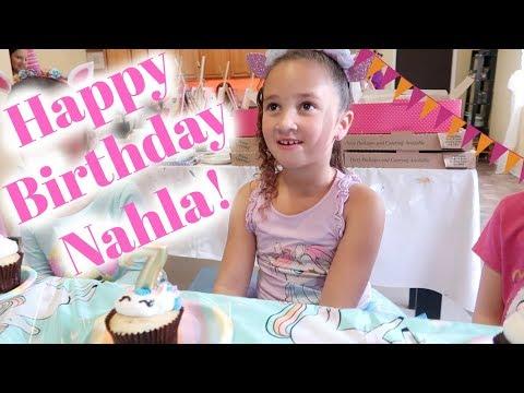 Nahla's Birthday Party! - SRV #165 | Sarah Rae Vlogas |