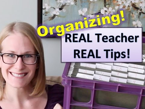CHEAP CLASSROOM ORGANIZATION IDEAS!