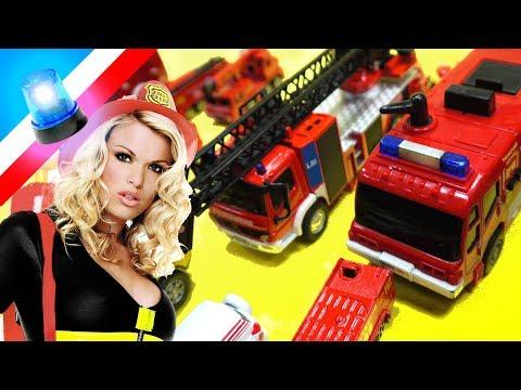 Feuerwehrauto Spielzeug Sammlung - Deutsche Feuerwehrautos
