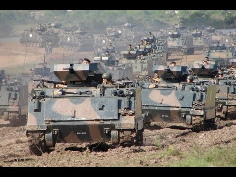 Brazilian army ready for war. Travel Video