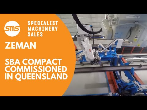 Zeman Steel Beam Assembly Machine - Compact - Commissioned Queensland 2015