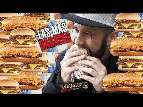 Bajoneando las mas baratas de Burger King y McDonalds