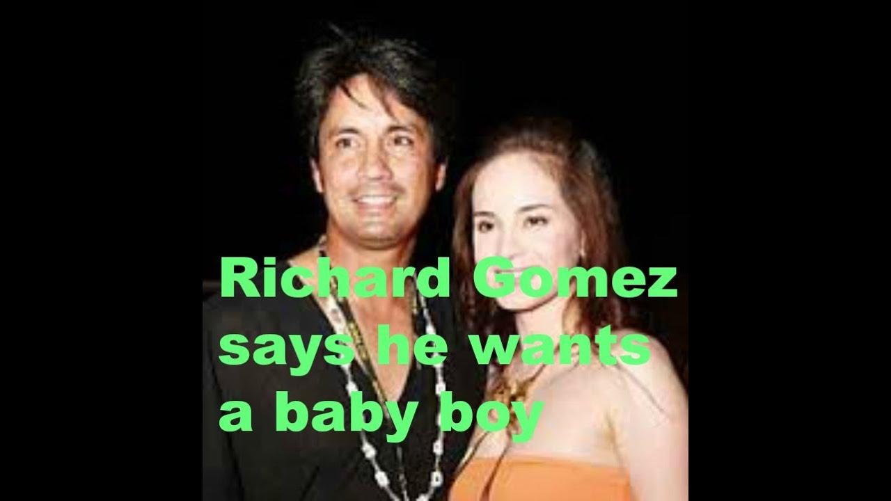 Richard Gomez Richard Gomez says he wants a baby boy Richard Gomez Weve been