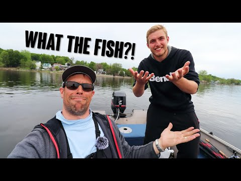 Trying To Find Fish On The Ottawa River With My New Fishing Buddy Guillaume + A CLOSE CALL!