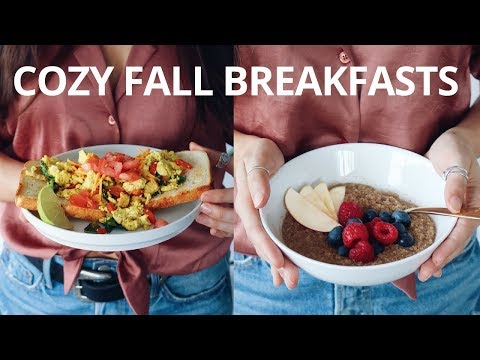 COZY FALL BREAKFAST RECIPES (VEGAN)