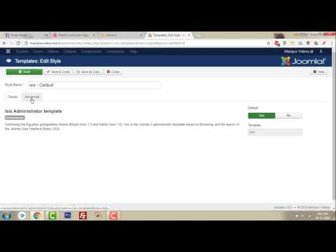 How to Change the Joomla Logo in Administrator Login Page | By Paste Media