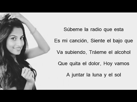 DESPACITO ✖ SUBEME LA RADIO - Luis Fonsi, Justin Bieber, Enrique Iglesias // Shanny Cover (Lyrics)
