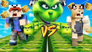 SZALONY WYŚCIG! - GRINCH LUCKY BLOCKI MINECRAFT! (Lucky Block Race) | Vito vs Bella