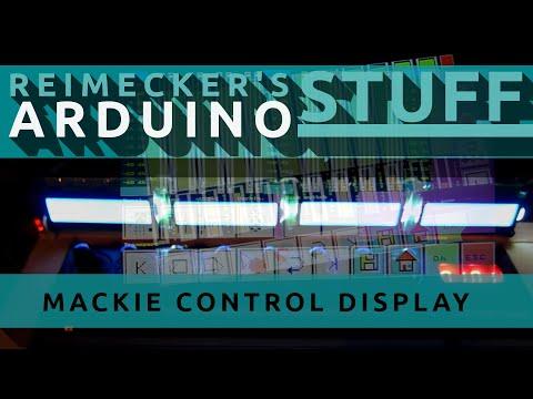 Arduino D.I.Y Mackie Control Display f�r Behringer BCF2000