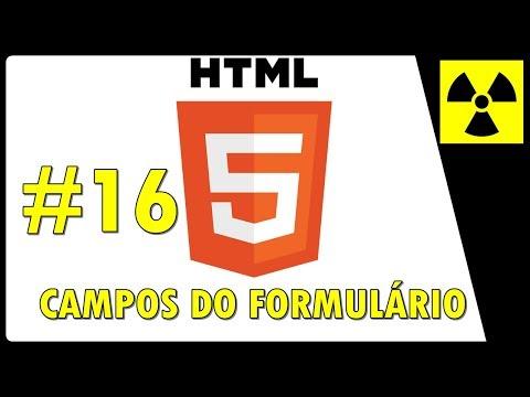 Curso de HTML 5 para INICIANTES - CAMPOS DO FORMULÁRIO - #16 fieldset, legend